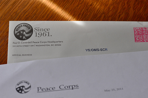 peace corps application essay