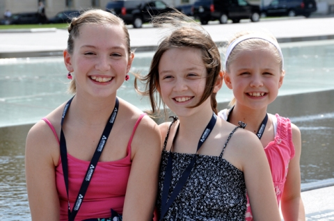 Minnesota girls on Capitol Hill, 2012