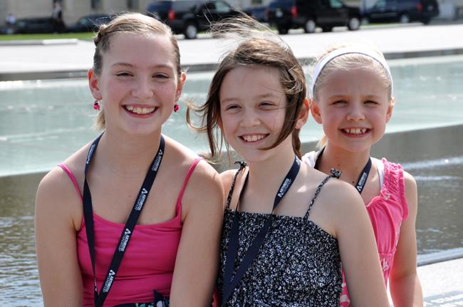 Minnesota girls on Capitol Hill, 2012
